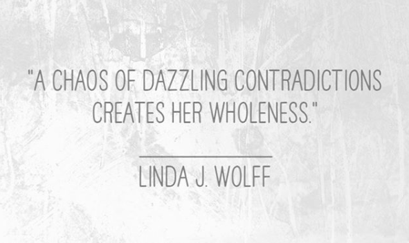 Image of quote of Dazzling Contradictions