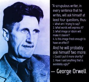 Writing Quote George Orwell