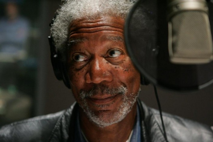 I wish Morgan Freeman could narrate my life...
