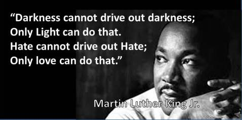 Image result for MLK quotes on hate